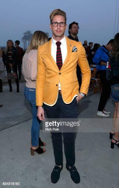 Blogger Ty Severe at the TommyLand Tommy Hilfiger Spring 2017 Fashion Show on February 8 2017 in Venice California