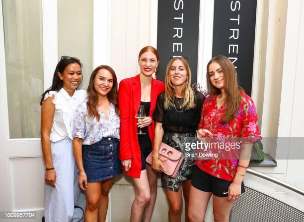 BloggerBazaar attends the Strenesse X Styleshiver X Bloggerbazaar launch event on August 2 2018 in Berlin Germany