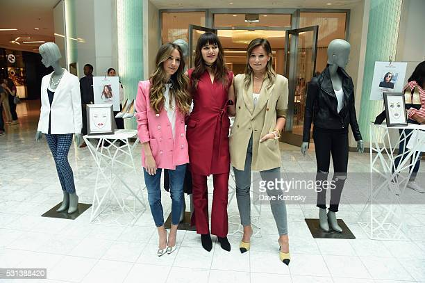 Bloggers Arielle Charnas Natalie Suarez and Danielle Bernstein attend the Westfield x Who What Wear Presents Boss Notes at Westfield Garden State...