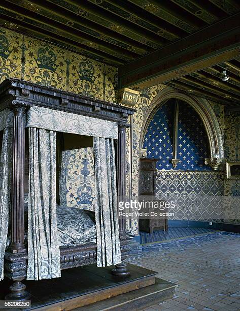 Blois The castle Henri IIIrd's bedroom