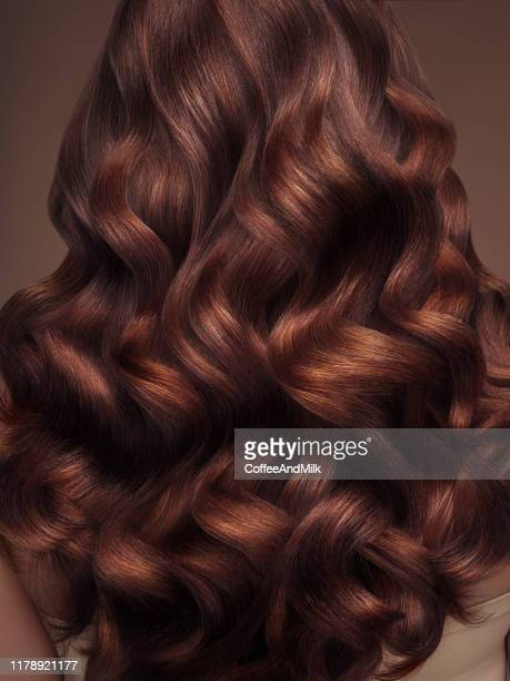 blond woman with long and shiny hair - brown hair stock pictures, royalty-free photos & images