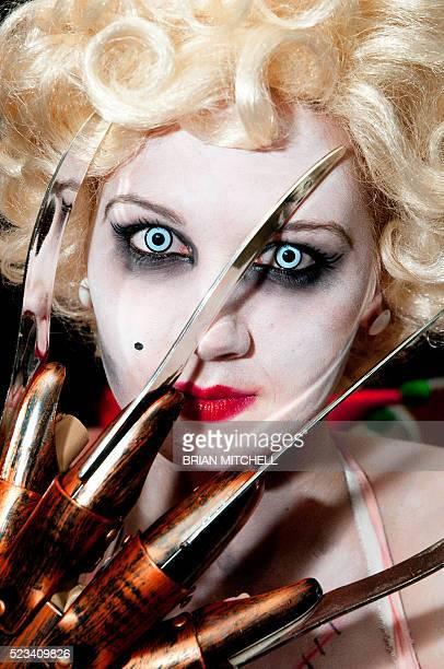 Blonde Halloween Zombie