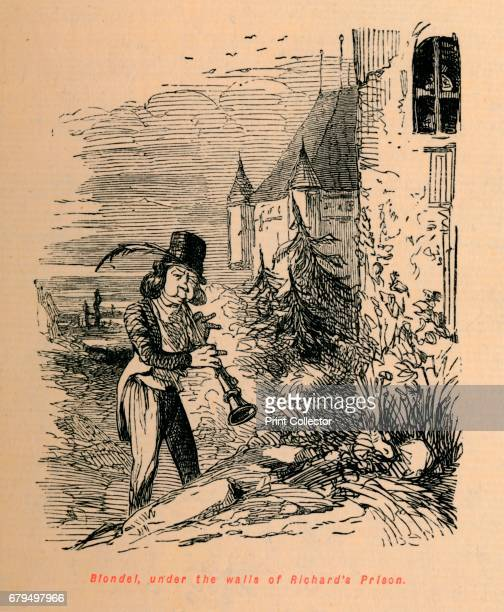 Blondel under the walls of Richard's Prison' c1860 Blondel de Nesle under the walls of Richard I∆s Prison By 1260 the legend of R⁄cits d'un M⁄nestrel...
