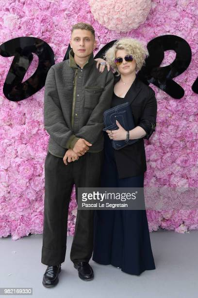 Blondey McCoy and Kelly Osbourne attend the Dior Homme Menswear Spring/Summer 2019 show as part of Paris Fashion Week on June 23 2018 in Paris France