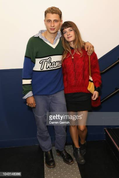 Blondey McCoy and Lotty Sanna attend the AnOther Magazine x Prada private screening and party for Luca Guadagnino's Suspiria and AnOther A/W18 during...