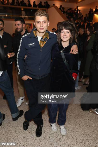 Blondey McCoy and Lotty Sanna attend the Loewe Craft Prize 2018 at The Design Museum on May 3 2018 in London England