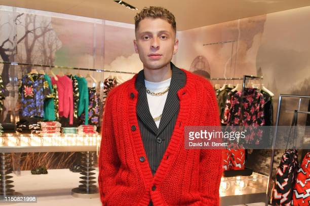 Blondey McCoy attends Prada Thunder at the London Flagship Store on Old Bond Street on June 19 2019 in London England