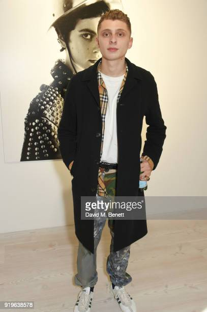 Blondey McCoy attends the AnOther Magazine The Store X official opening of Prints Film Posters More A Willy Vanderperre Exhibition at 180 The Strand...