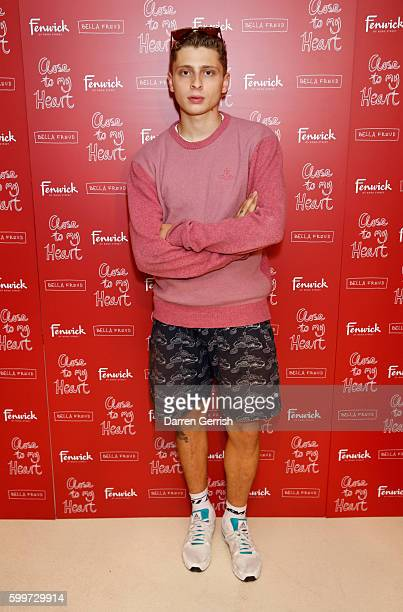 Blondey McCoy attends the Bella Freud Fragrance Launch at Fenwick Of Bond Street on September 6 2016 in London England