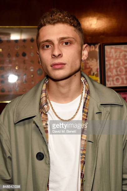 Blondey McCoy attends the Fashion East London Fashion Week party in association with Bumble at Moth Club on September 17 2017 in London England
