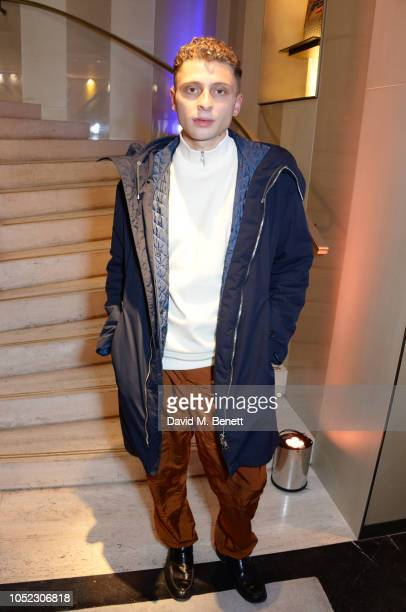 Blondey McCoy attends the FENDI MANIA Collection Launch on October 16 2018 in London England