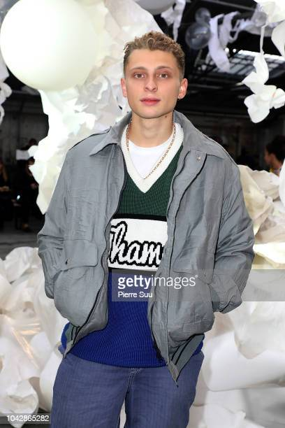 Blondey McCoy attends the Vivienne Westwood show as part of the Paris Fashion Week Womenswear Spring/Summer 2019 on September 29 2018 in Paris France