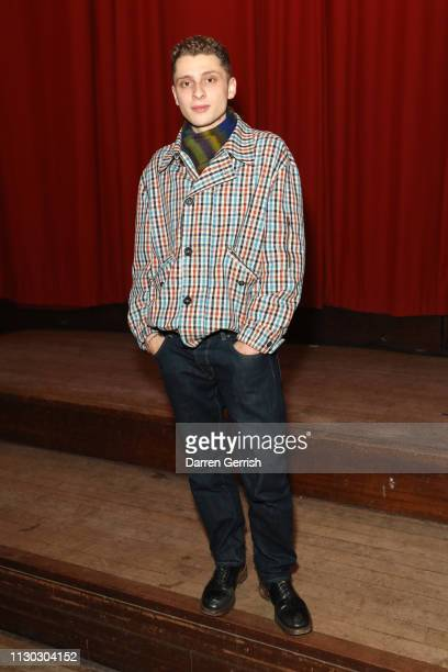 Blondey McCoy attends the Vivienne Westwood show during London Fashion Week February 2019 on February 17 2019 in London England