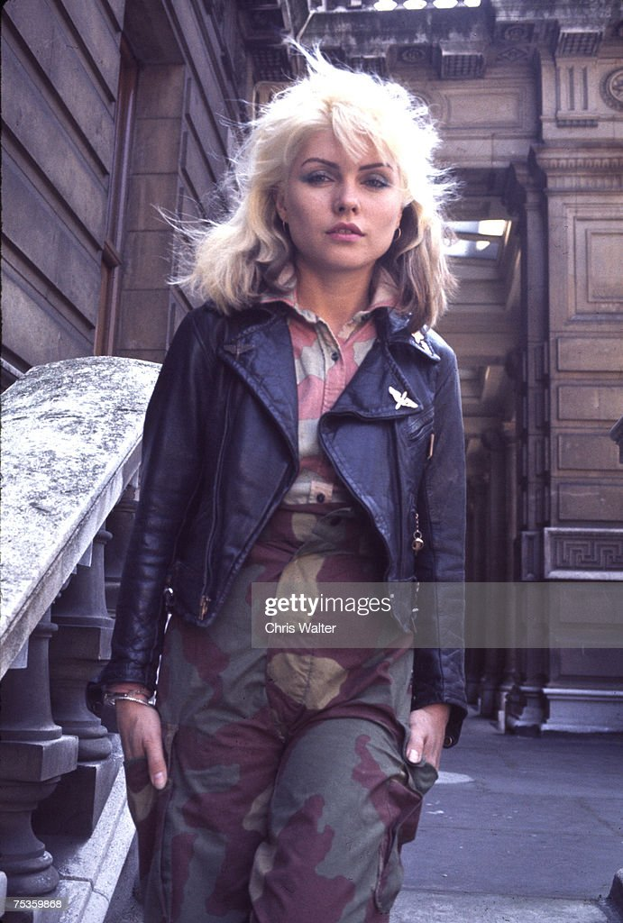 Blondie 1977 Debbie Harry London, England