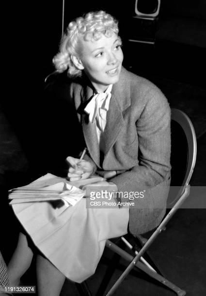Blondie a CBS Radio situation comedy Penny Singleton Hollywood CA November 20 1939