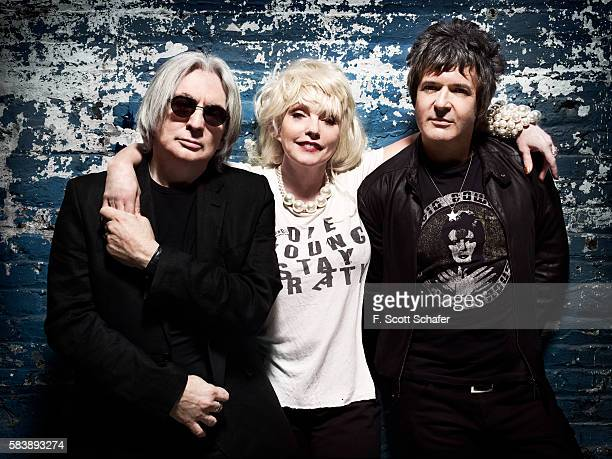 Blondie are photographed on April 18 2011 in New York City