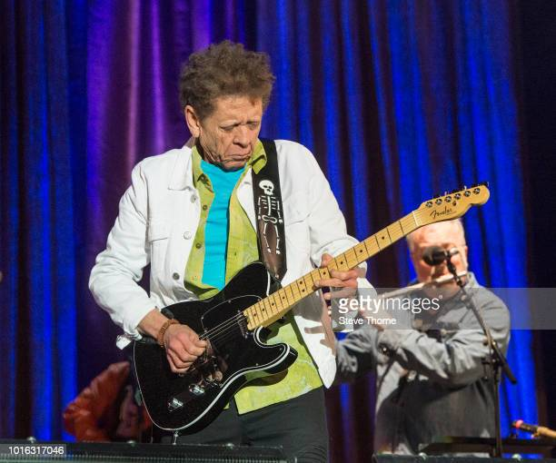 Blondie Chaplin performs at Fairport Convention's Cropredy Convention at Cropredy on August 9, 2018 in Banbury, England.