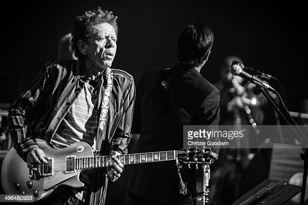 Blondie Chaplin performs on stage with Joe Bonamassa and Beth Hart at Koninklijk Theater Carre on June 29, 2013 in Amsterdam, The Netherlands.