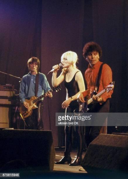 Blondie Debbi Harry rock singer USA on stage at Neue Welt Berlin