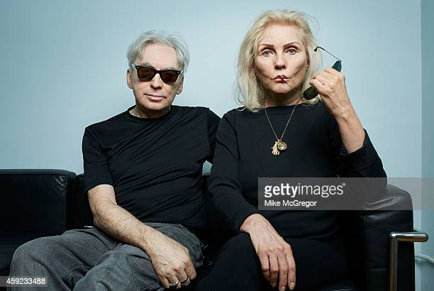 Blondie members Debbie Harry and Chris Stein are photographed for The Observer Newspaper on October 21 2014 in New York City PUBLISHED IMAGE