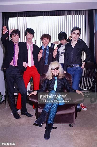 Blondie visiting Shinko Music Tokyo January 1978