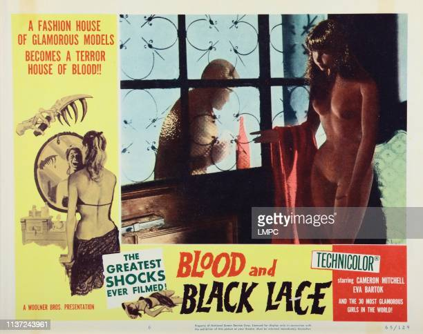 Blood And Black Lace lobbycard 1964