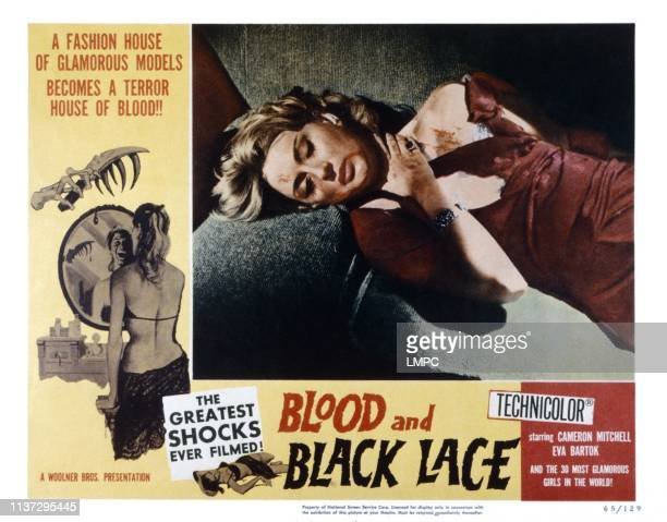 Blood And Black Lace lobbycard Mary Arden 1964