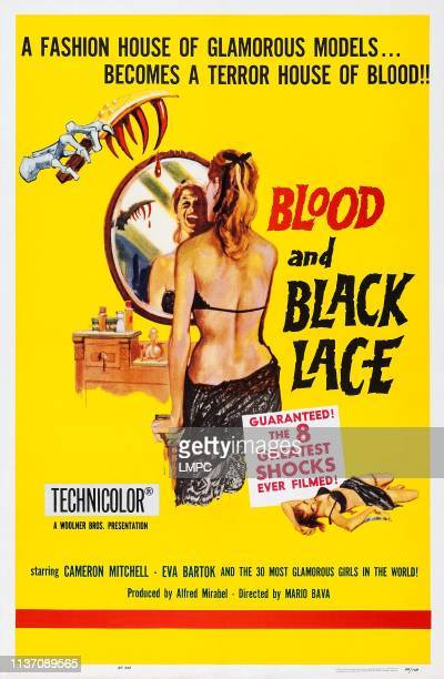 Blood And Black Lace poster US poster art 1964