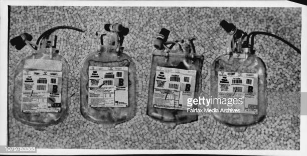 Blood bags damaged by taxi driver Antony OdacavaWhen the six pack Esky was found slashed open with blood dripping into the bottom it was Antony...