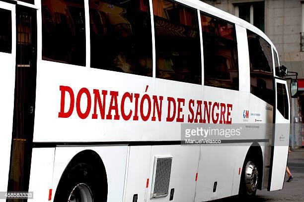Autocarro de doação de sangue