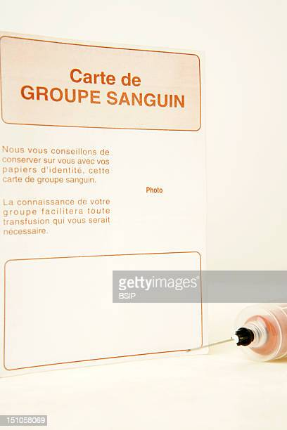 Blood Group Card