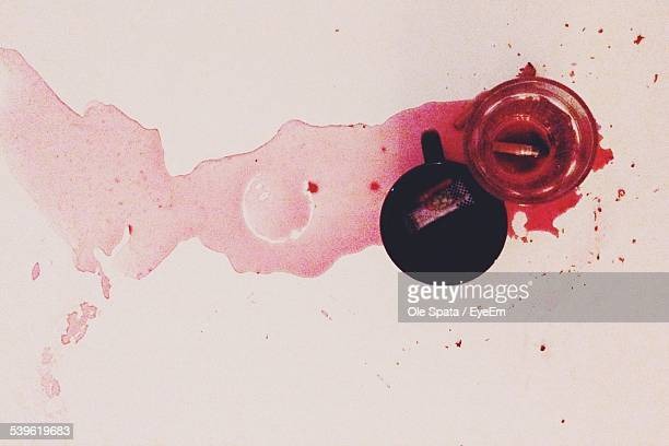 blood in sink - blood in sink stock pictures, royalty-free photos & images