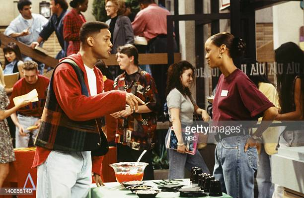 AIR THE 'Blood is Thicker than Mud' Episode 8 Pictured Will Smith as William 'Will' Smith Tyra Banks as Jackie Ames Photo by Gary Null/NBCU Photo Bank