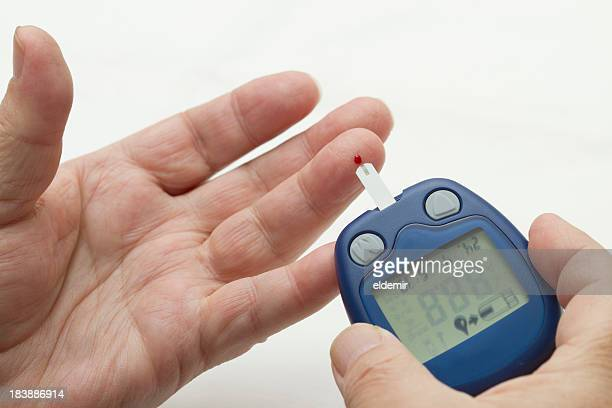 Blood Monitor Glucose Test