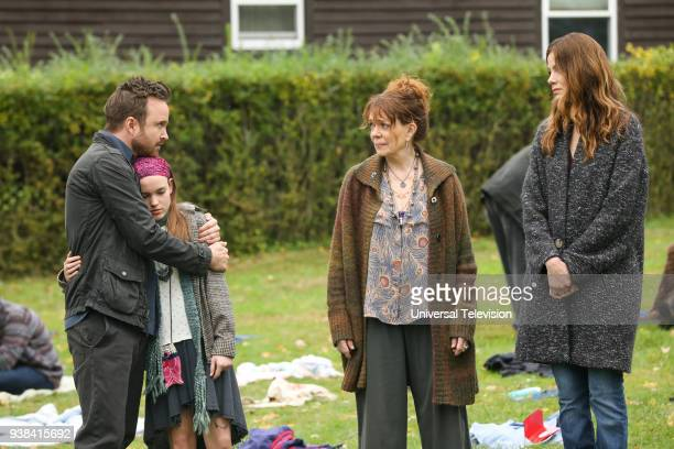 THE PATH 'Blood Moon' Episode 313 Pictured Aaron Paul as Eddie Lane Aimee Laurence as Summer Lane Deirdre O'Connell as Gab Armstrong Michelle...