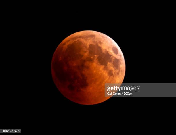 blood moon, total lunar eclipse - eclipse stock pictures, royalty-free photos & images