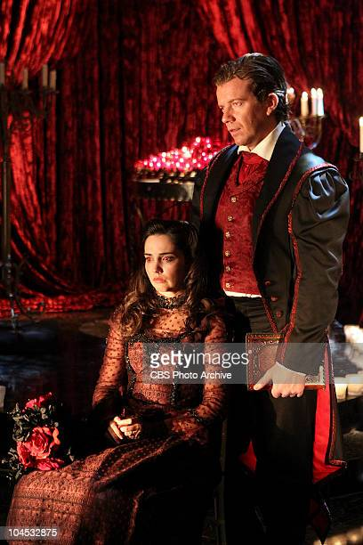 Blood Moon Vampire enthusiasts Thomas Stewart and Julie Crenshaw await the arrival of JulieÕs vampire groom at a Las Vegas chapel on CSI CRIME SCENE...