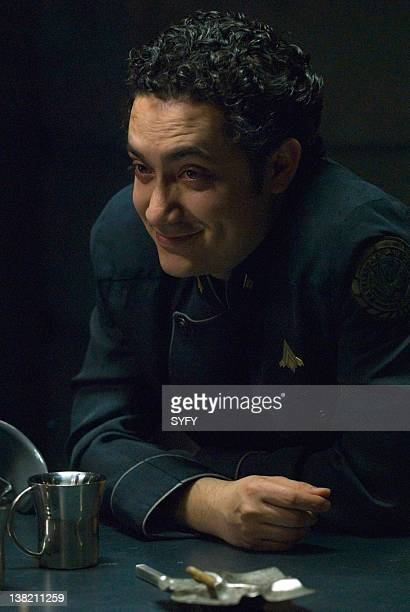 GALACTICA 'Blood on the Scales' Episode 416 Air Date Pictured Alessandro Juliani as Lieutenant Felix Gaeta