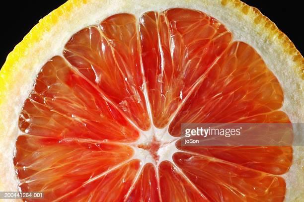 Blood orange, cross section, close-up