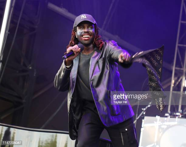 Blood Orange performs onstage for Day 1 of 2019 Governors Ball Music Festival at Randall's Island on May 31 2019 in New York City
