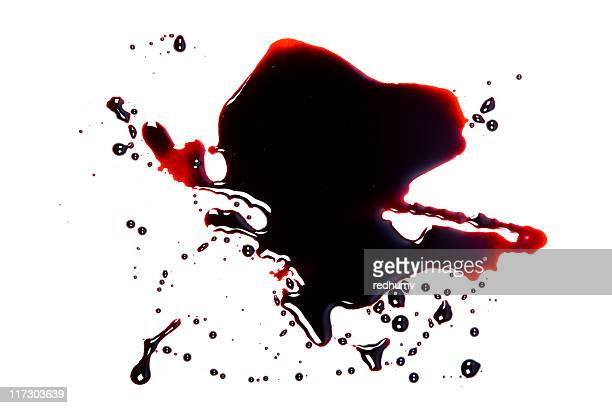 blood pool - animal blood stock pictures, royalty-free photos & images