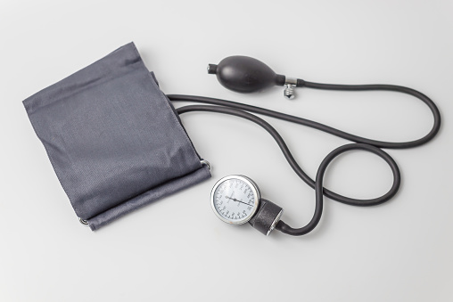 Blood pressure and pulse measuring device 1141034602