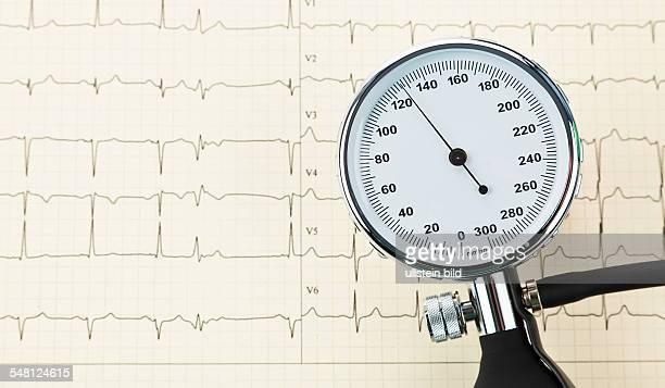 blood pressure meter and ECG