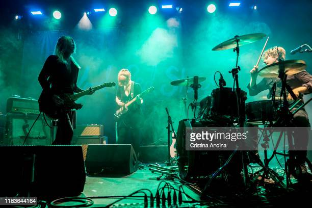 Blood Red Shoes opens for Pixies at Coliseum A Coruña on October 26 2019 in A Coruna Spain