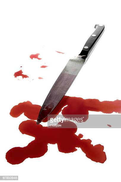 blood stained murder weapon - human blood stock pictures, royalty-free photos & images