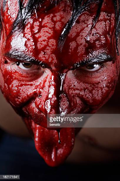 blood thirst - bloody gore stock pictures, royalty-free photos & images