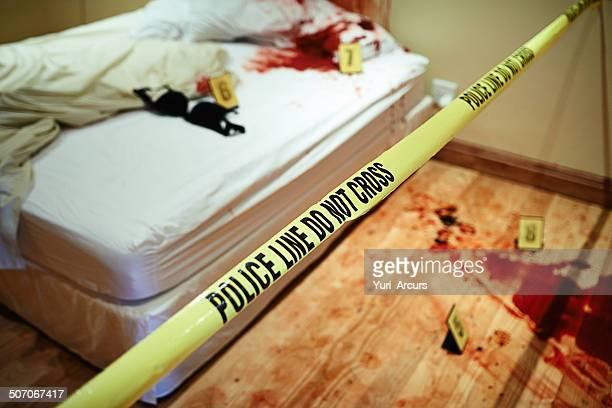 Bloody bedroom