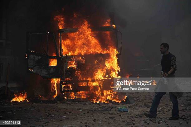 Bloody clashes erupted in Cairo on Sunday October 6 between supporters of the military and followers of ousted elected president Mohamed Morsi as the...