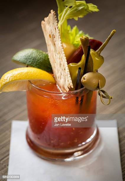 Bloody Mary Cocktail at Brunch