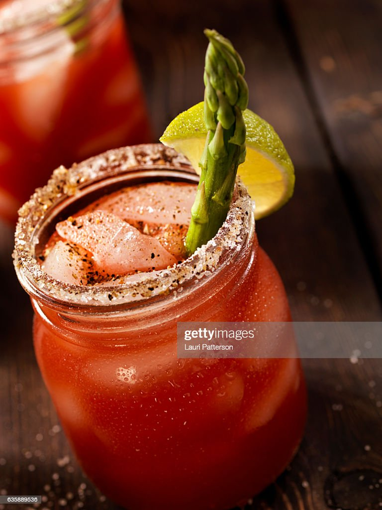 Bloody Mary or Caesar Cocktail : Stock Photo